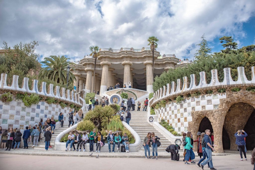 Park Guell visite barcelone