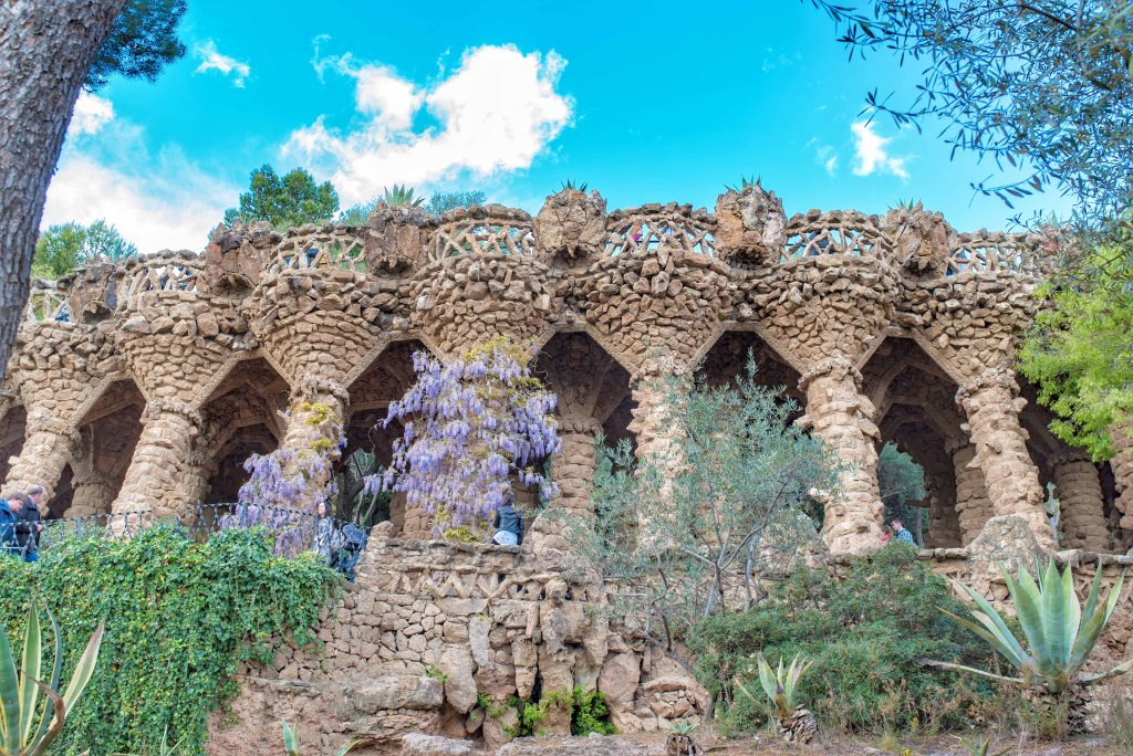 Park Guell barcelone